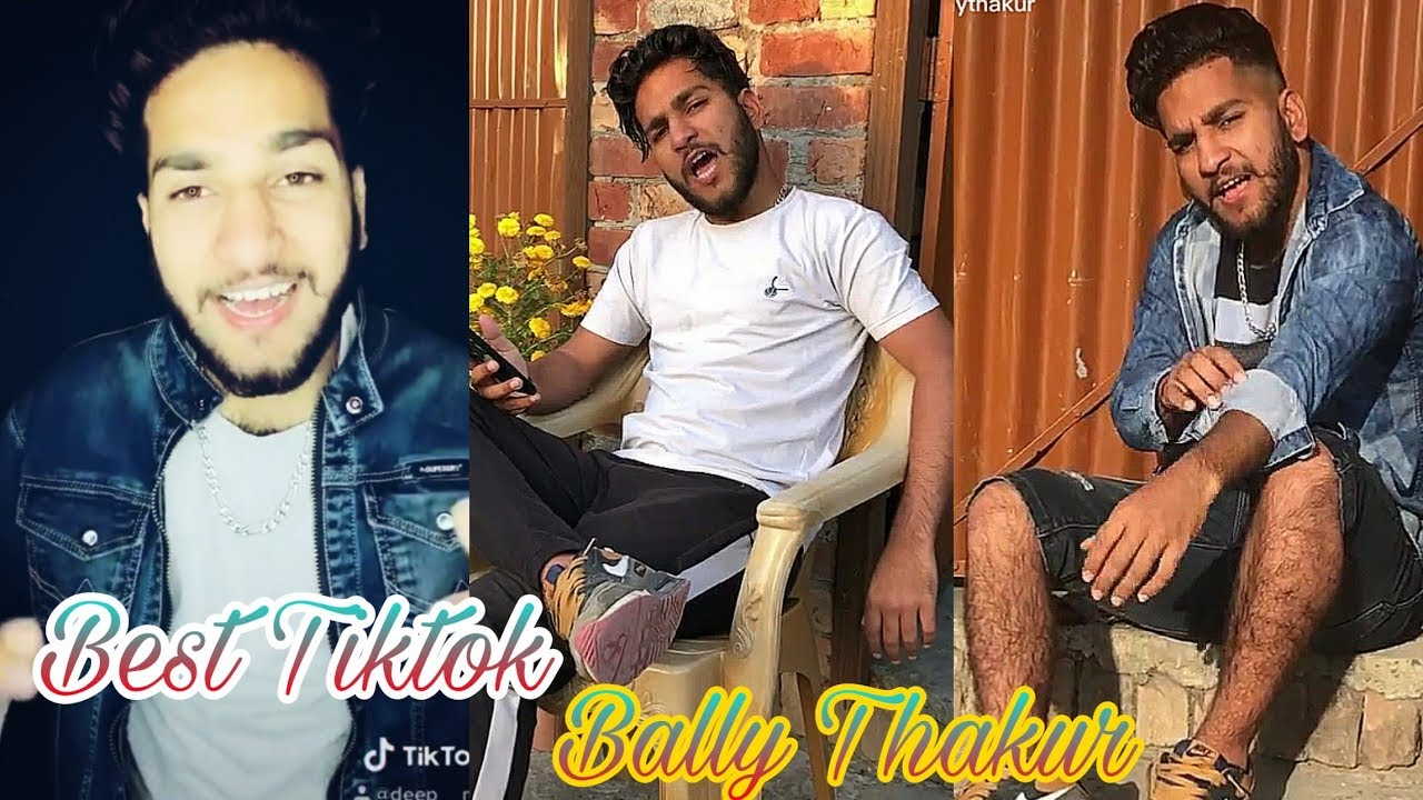 ⭐Bally Thakur😏 Latest Tiktok videos 🤨| Latest Musically videos | Best Tiktok 😉👌😘😍