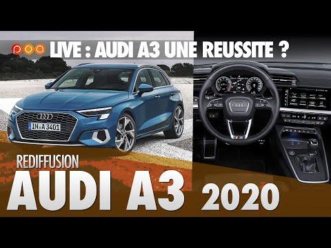 🚗 LIVE | NOUVELLE AUDI A3 EXCLU 🇩🇪 Audi Man Séduit ?