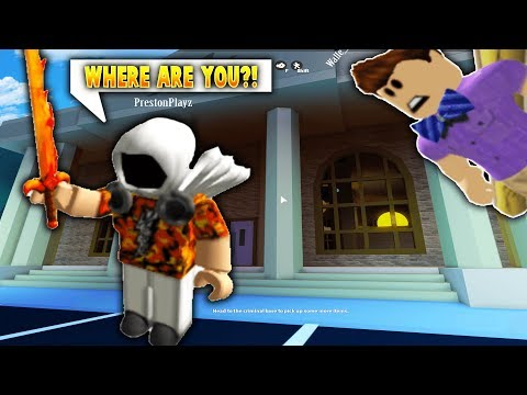 Youtubers FIND And KILL ME! Roblox - Hide and Seek w Prestonplayz Russo Shane