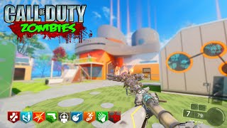 BLACK OPS 3 ZOMBIES - FIRE STAFF ON NUKETOWN CUSTOM ZOMBIES MOD TOOLS GAMEPLAY! (BO3 Zombies)