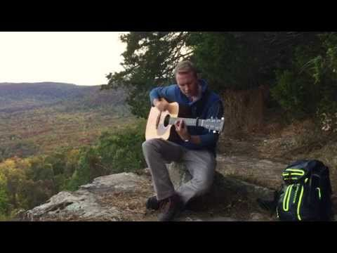 Mumford & Sons- The Wolf (acoustic) - On a Cliff