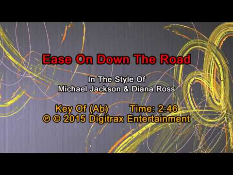 Michael Jackson & Diana Ross - Ease On Down The Road  (Backing Track)