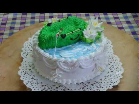 торт для рибалки