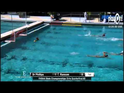 Girls Water Polo State Quarterfinal #2