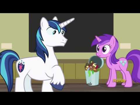 Cadance & Shining Armor at the Art Gallery - A Flurry of Emotions