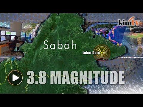 Mild earthquake hits Lahad Datu