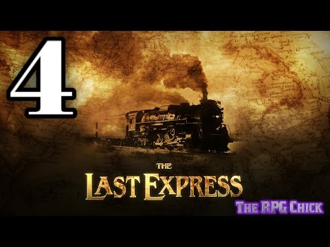 Let's Play The Last Express (Blind), Part 4 of 12: Another Visit With Kronos