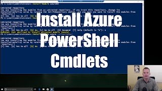 Getting started with PowerShell for Azure