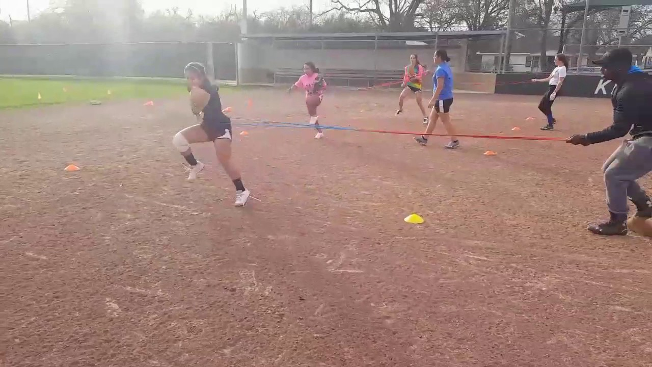 First Step Athletics Academy softball training