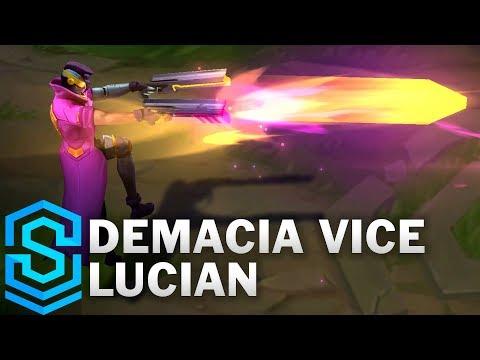 Demacia Vice Lucian Skin Spotlight - Pre-Release - League of Legends