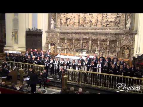 AVE  MARÍA de  B.SOMMA  Concierto en Basílica del Pilar. PEREGRINACIÓN DIOCESANA