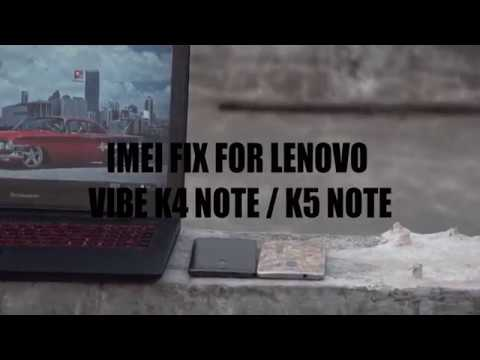 How to Fix IMEI For LENOVO k4 note /k5 note (for MT6753 /55 or any MTK  Devices) by pinakin chaudhari