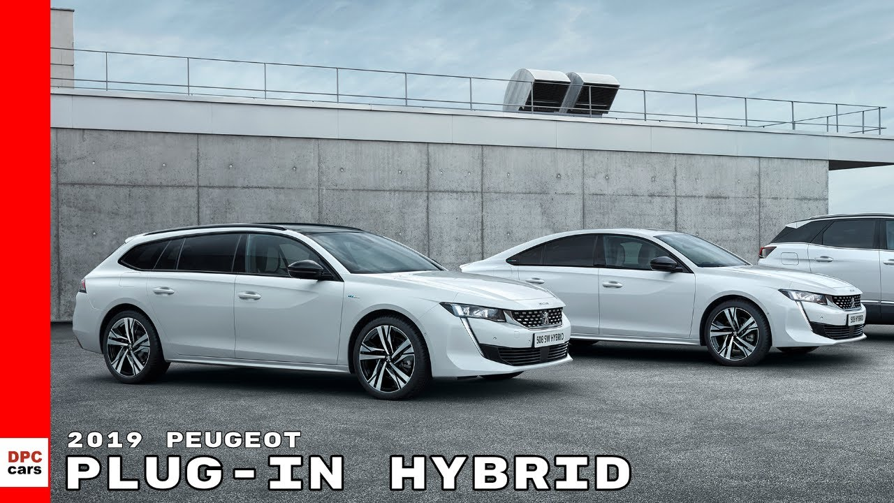 2019 Peugeot 508 And 3008 Plug In Hybrid Youtube