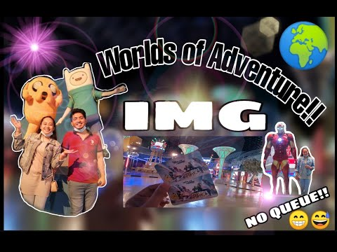 IMG Worlds of Adventure | #Vlog3 | REHANFamily