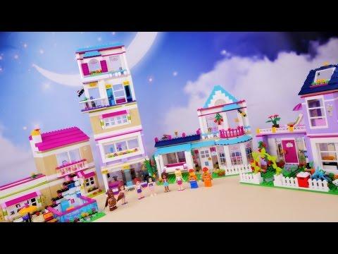 Budowanie Domku Mii Za Kulisami Klocki Lego Friends Youtube
