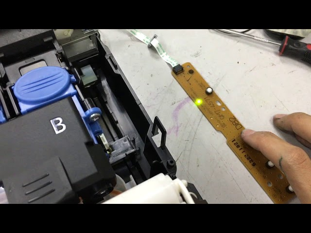 Canon Pixma G2000 manually system cleaning