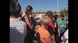 Протест против строительства нового Винницкого кладбища в Сабарове