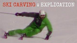 SKI CARVING : mes SECRETS du VIRAGE carving (virage long)