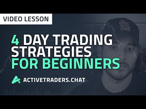 4 Day Trading Strategies for Beginners (How to Trade Stocks)