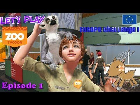 Zoo Tycoon Xbox one - Europe Challenge Episode 1