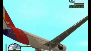 Asiana Airlines in GTA San Andreas