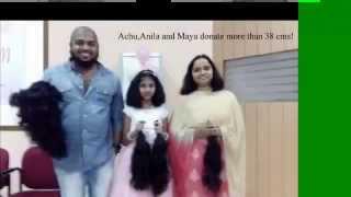 NSS Hosts 4th pink walkathon and hair donation at Kochi, India!