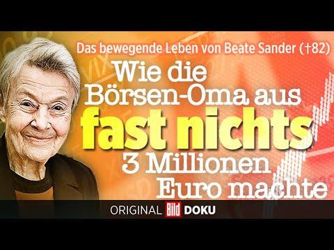 Beate Sander, die Börsen-Oma: Erst Lehrerin, dann Aktien-Millionärin   BILDplus   Trailer