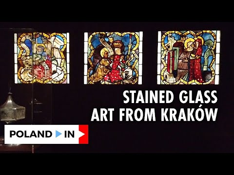 STAINED GLASS ART FROM KRAKÓW – Poland In