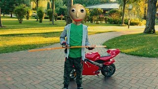 Den turned into Baldi