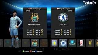 PES 13 Manchester City Tactic