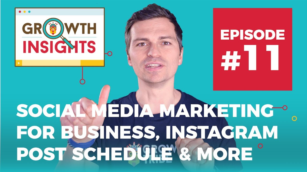 Social Media Marketing for Business, Instagram post schedule & more   Growth Insights #11 image