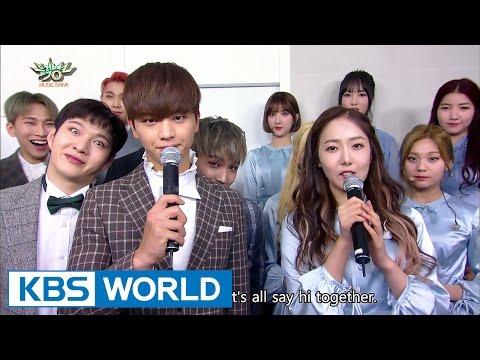 GFRIEND and BTOB comes back on Music Bank  [Music Bank / 2017.03.17]