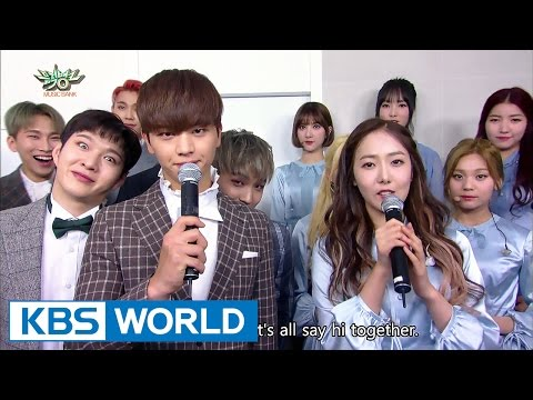 GFRIEND and BTOB comes back on Music Bank  [Music Bank / 2017.03.17]