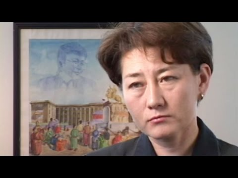 Mongolia, Sister of Zorig, the Honorable Oyun, Member of Parliament  Part 2 (2000)