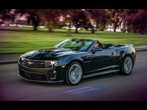 Chevrolet Camaro ZL1 Convertible roadtest