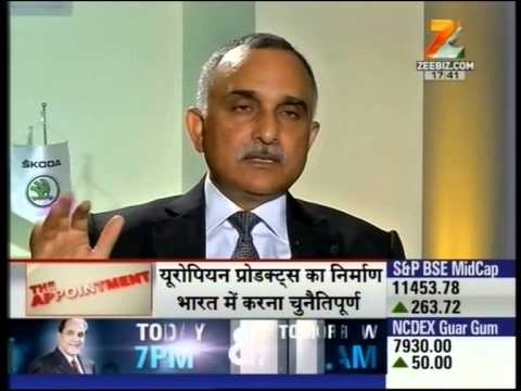 """""""SKODA India Chairman, Sudhir Rao on new standards for the automobile market in India."""