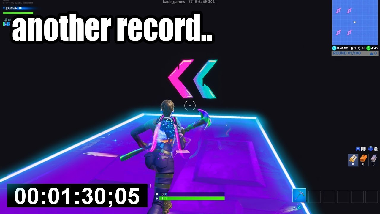 i got another WORLD RECORD in Fortnite Creative   (so easy)