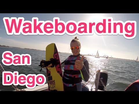 ВЛОГ: Вейкбординг в Сан-Диего   Wakeboarding ♡ Irena Berry