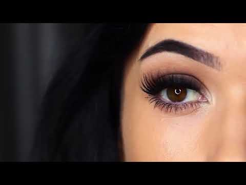 How to make a smokey eyes eyeshadow makeup tutorial