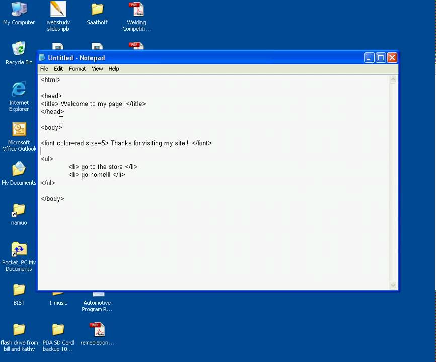 how to make ad ware with notepad