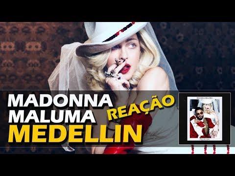 REAÇÃO + REVIEW  MADONNA - MEDELLÍN WITH MALUMA
