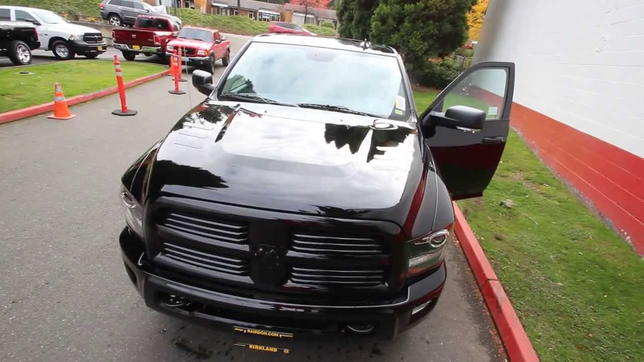 2014 dodge ram 2500 crew cab eg141410 kirkland dcj seattle bellevue youtube - Dodge Ram 2500 Black Edition
