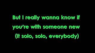 Video Clean Bandit- Solo ft Demi Lovato (LYRICS) download MP3, 3GP, MP4, WEBM, AVI, FLV Agustus 2018