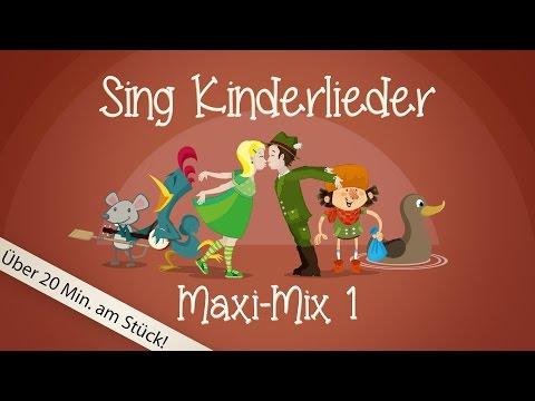 Sing Kinderlieder Maxi-Mix 1 - Kinderlieder zum Mitsingen | Sing Kinderlieder