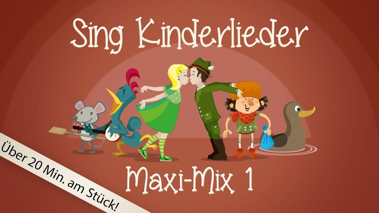sing kinderlieder maxi mix 1 bruder jakob u v m. Black Bedroom Furniture Sets. Home Design Ideas
