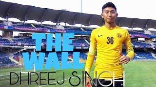 "Yeh video fifa under -17 me khel rahe indian goal keeper ""DHREEJ SI..."
