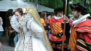 Queen Elizabeth at TN Renaissance Festival (2012) Thumbnail