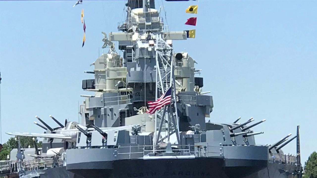 Battleship Tour North Carolina