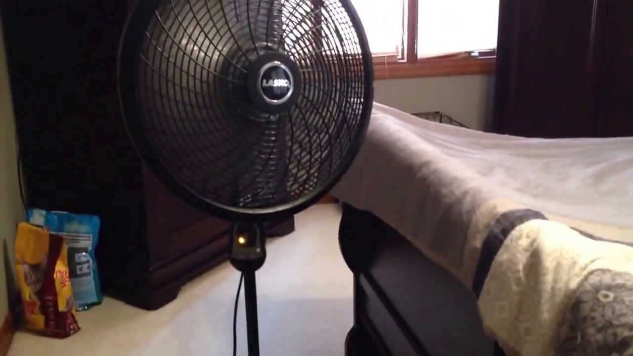 2012 Lasko 1844 Stand Fan Youtube