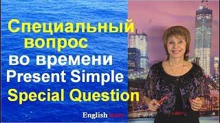 Специальный вопрос во времени Present Simple. Special Question